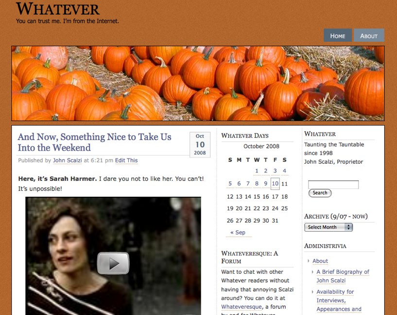 Whatever Blog
