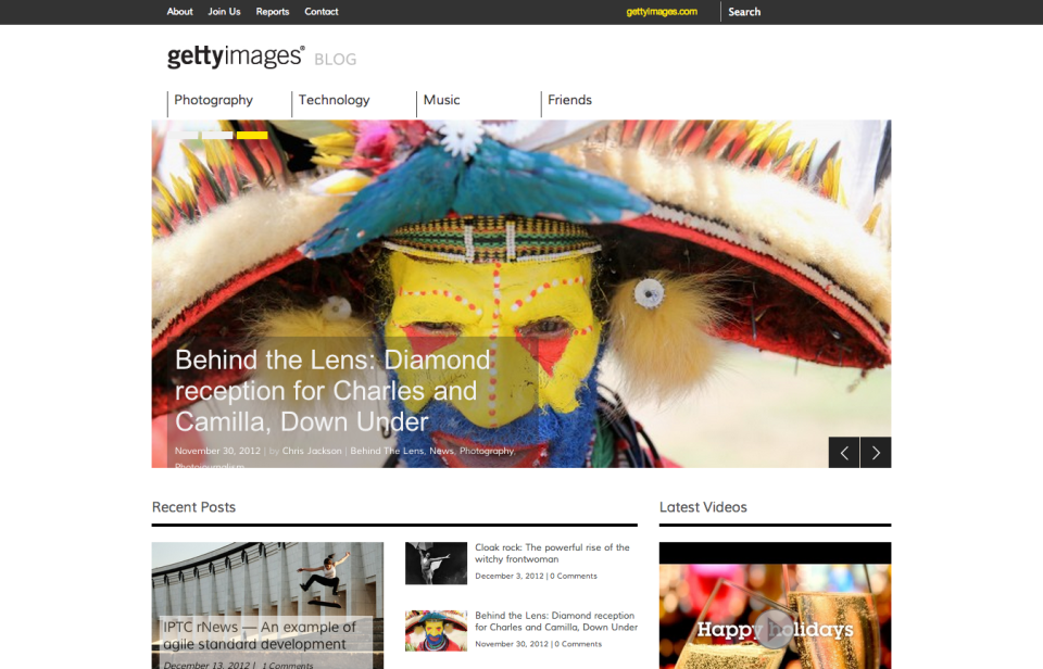 The Getty Images Blog |