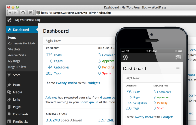 wordpress-future-dashboard
