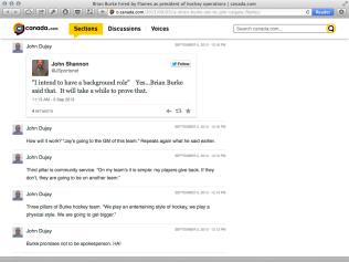 Brian Burke Liveblog