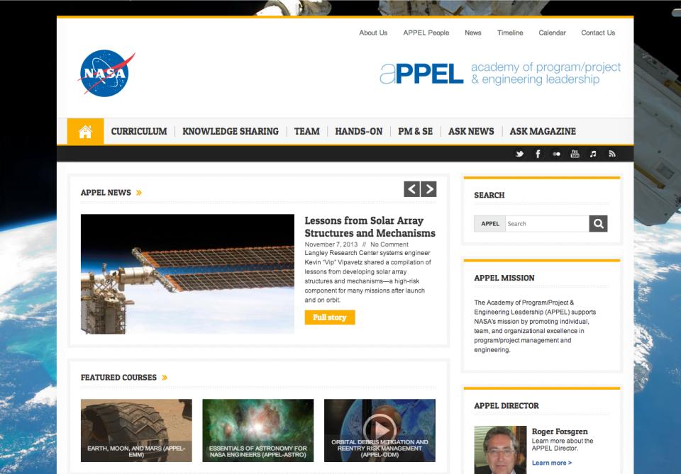 APPEL – Academy of Program:Project & Engineering Leadership