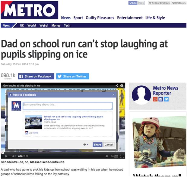 Metro-Social-Content