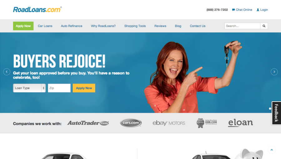 Car Loans l Car Refinance l Roadloans.com