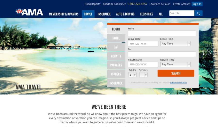 AMA Travel   Flights   Hotels   All Inclusive   Last Minute Deals   AMA
