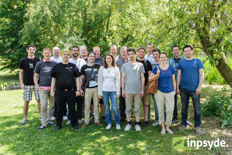 Inpsyde team at WordCamp Cologne 2015