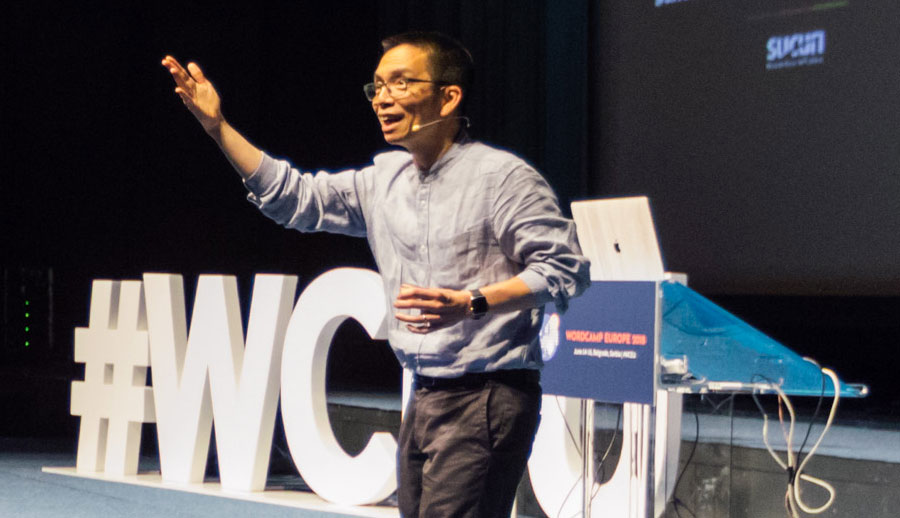 John Maeda at WordCamp Europe